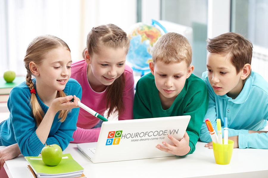 Hour Of Code | Địa chỉ học tin học tốt nhất cho trẻ em