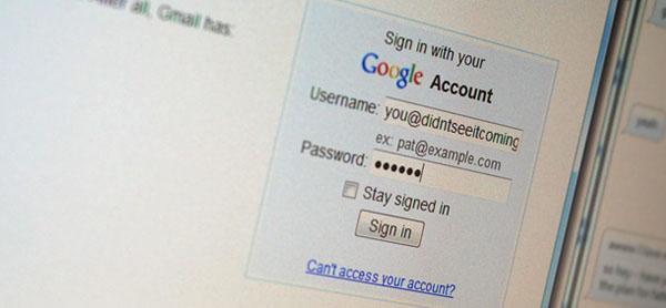 Những suy nghĩ sai về đánh cắp mật khẩu