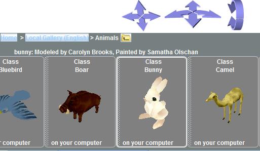 Chọn nhân vật Bunny