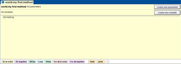 Màn hình Method Editor