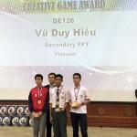 HS Việt Nam giành giải Nhất cuộc thi lập trình quốc tế