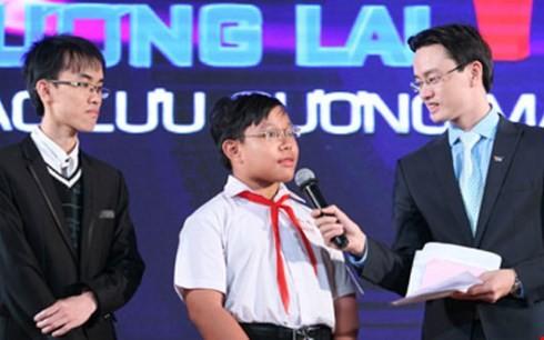 Nguyễn Dương Kim Hảo (học sinh lớp 6/8 Trường THCS Nguyễn Gia Thiều, quận Tân Bình, TP HCM) chia sẻ phương pháp học tập, đam mê của mình.