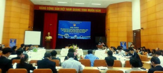 Hội thảo ứng dụng CNTT vào đổi mới giáo dục toàn diện
