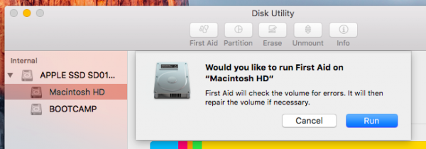 Ứng dụng Disk Utility