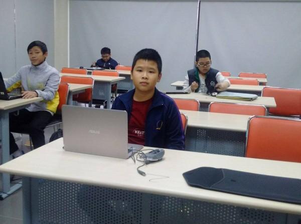 Thí sinh chuẩn bị làm bài thi Chung kết toàn quốc
