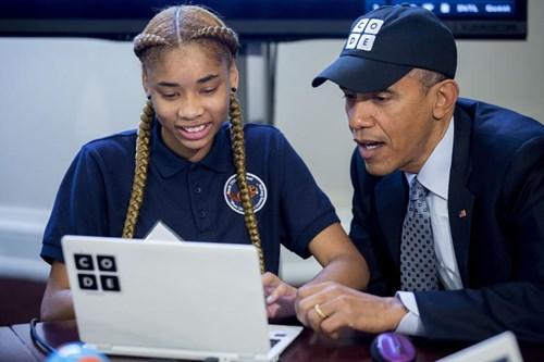 "ổng thống Barack Obama ""khuyến học"", ảnh: howwe.biz"