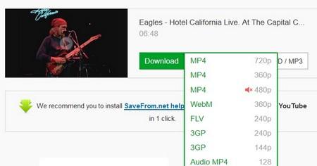 Tải video từ youtube không cần sử dụng công cụ hỗ trợ download