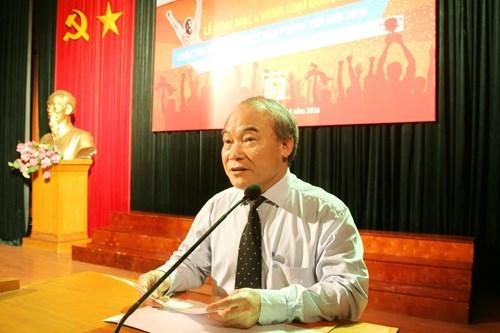 Thứ trưởng Nguyễn Vinh Hiển phát biểu tại lễ khai mạc