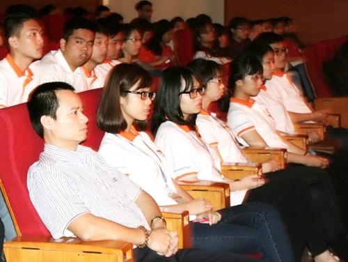Các thí sinh dự thi tại Hà Nội