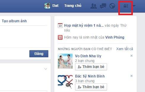 cách chặn tin nhắn rác trên fb
