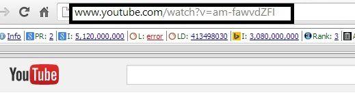 Copy đường link youtube bạn muốn tách