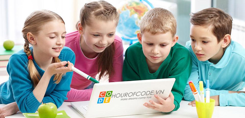 Hour Of Code Việt Nam   ĐỊa chỉ học lập trình cho trẻ em tốt nhất
