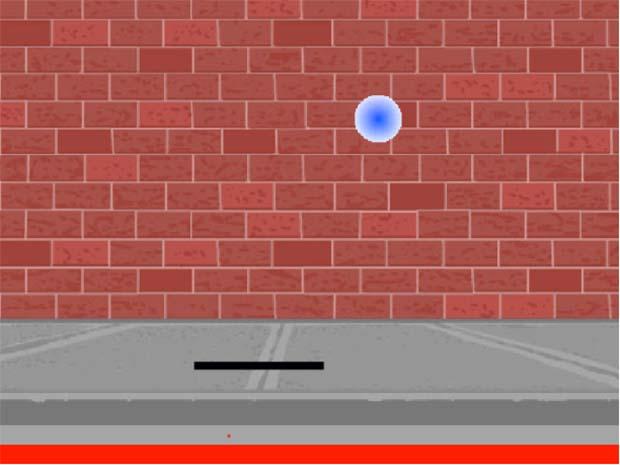 Giao diện minh họa trò chơi Pong game