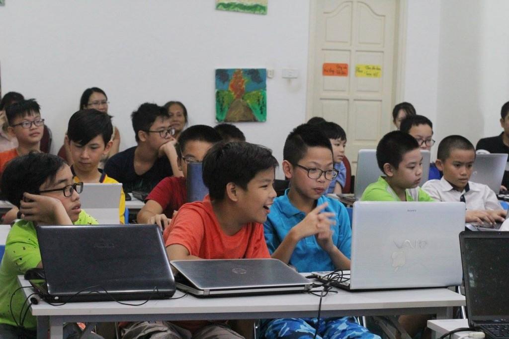 học lập trình cho trẻ em tại hà nội