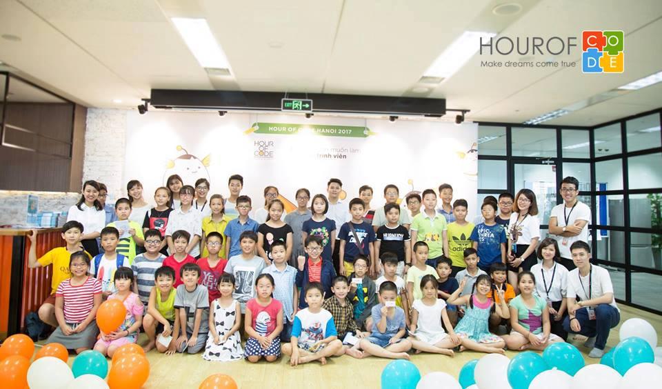 Trung tâm Hour Of Code phối hợp cùng với Framgia tổ chức cuộc thi Hour Of Code 2017