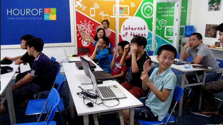 Hour Of Code Việt Nam | Địa chỉ học lập trình cho trẻ em uy tin nhất