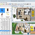 Khám phá giao diện sweet Home 3D