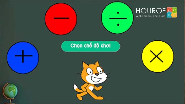 Trẻ em học lập trình Scratch